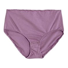 Pansy Lilac High Rise Brief ($42) ❤ liked on Polyvore featuring intimates and panties