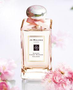 Sakura Cherry Blossom Cologne by Jo Malone ☁️ ✿⊱╮♡ ✦ ❤️ ●❥❥●* ❤️ ॐ ☀️☀️☀️ ✿⊱✦★ ♥ ♡༺✿ ☾♡ ♥ ♫ La-la-la Bonne vie ♪ ♥❀ ♢♦ ♡ ❊ ** Have a Nice Day! ** ❊ ღ‿ ❀♥ ~ Tue Sep 2015 ~ ~ ❤♡༻ ☆༺❀ . Sakura Cherry Blossom, Cherry Blossoms, Sakura Sakura, Jo Malone, Smell Good, Deodorant, Perfume Bottles, Cosmetics, Pink