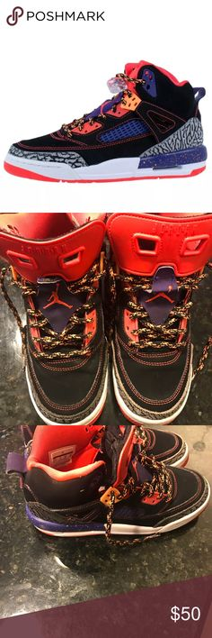 NIKE Kids/' Air Jordan SPIZIKE Grade School Basketball Shoes 317321-080 a1