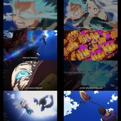 Midoriya destroying overhaul. #Midoriya #Bokunoheroacademia #myheroacademia #infinite100 #eri My Hero Academia, Hunter Anime, Anime Art, Fandoms, Artwork, Movie Posters, Tatoo, Caricatures, Hipster Stuff