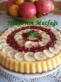 Hülya'nın Mutfağı: CREMOLELİ MEYVELİ TART Cake Roll Recipes, Dessert Recipes, Desserts, Cupcakes, Cake Varieties, Pudding Cake, Cheesecakes, Turkish Recipes, Perfect Food