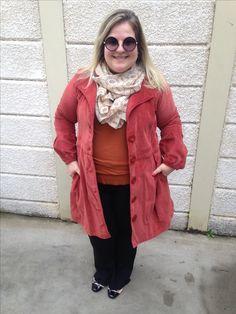 Inverno sempre deixa a gente mais chique! Moda plus size moda gg look plus size