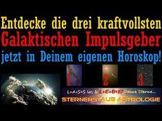 3 kraftvolle Galaktische Impulsgeber im Horoskop jetzt voll aktiviert