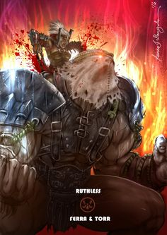 Mortal Kombat X-Ferra and Torr -Ruthless Variation by Grapiqkad.deviantart.com on @DeviantArt