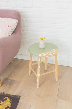 DIY opgeknapt krukje - Oh Marie! voor vtwonen