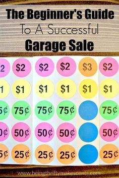 Are you ready to have a successful garage sale this summer? Here are some of the ways that I was able to have a profitable garage sale in just a few hours.