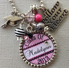 Class of 2013 Graduation Gift PERSONALIZED Name Year by buttonit