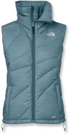 The North Face Bella Luna Down Vest in kodiak blue - Women's - Free Shipping at REI.com