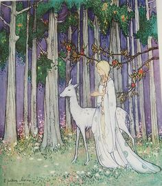 From ''White Butterfly Fairy Tales'' by Ethel Jackson Morris, 1921