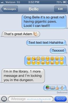 10 Texts From Disney Princesses To Their Princes. This is HILARIOUS!!!