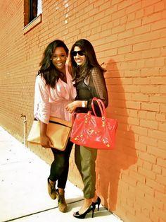 somethingwithspice.tumblr.com    Fashion Bloggers: Tope Leyimu and Sarah Faroqi