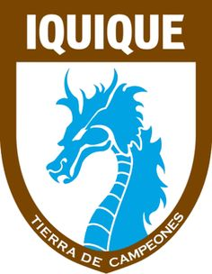 Club de Deportes Iquique S. (Chile) Nickname(s): Los Dragones Celestes (The Sky Blue Dragons) Baseball Pennants, Fifa, Football Mexicano, Soccer Logo, Team Mascots, Great Logos, Professional Football, Basketball, Founding Fathers
