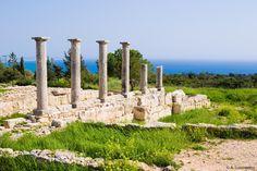 Cyprus Lemesos Sanctuary of Apollon Ylates, god of the woodland and protector of Kourion ancient city-kingdom.