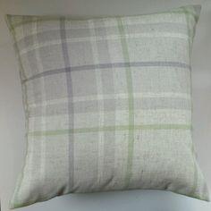 mauve green natural cushions-next