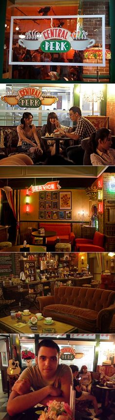 Beijing has its own Central Perk café, just like the one on Friends! About 2 years ago a fan of the show opened this gem in downtown Beijing. He spent countless months going through thousands of photos from the show's Central Perk set to recreate the true vibe. He was so inspired that he even got the same type of sofa, the signature over-sized cups & even the bicycle outside the shop. A place to feel at home when you study abroad in Beijing with CAPA International Education…
