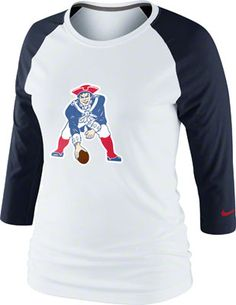 Women's New York Jets Junk Food Cream All American Raglan Three-Quarter Length Sleeve T-Shirt