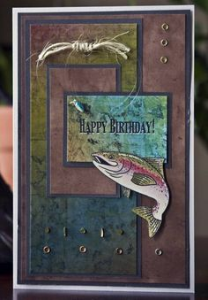 Pat's Birthday by CarolMiller - Cards and Paper Crafts at Splitcoaststampers