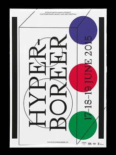 HYPERBOREER/RosengartenVisual identity/Poster(fictitious project)Nizar Kazan