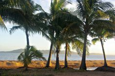 View back toward Townsville.  Taken from West Point on Magnetic Island.