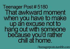 Haha me all the time!!