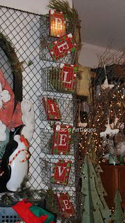 Ms. Mac's Antiques Diy Christmas Gifts, Christmas Trees, Christmas Holidays, Christmas Decorations, Holiday Decor, Boutique Displays, Shop Displays, A Boutique, Craft Booths