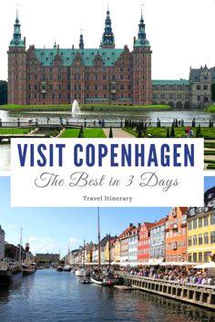 Things To Do in Copenhagen in 3 Days [Travel Itinerary] | Travellector #travel #traveltips #Copenhagen
