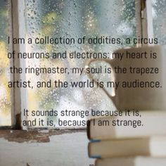 I decided to make my all-about me edit a quote from a book I recently read (Mosquitoland, by David Arnold) Lyric Quotes, Lyrics, David Arnold, Note To Self, Infj, Amazing Things, Beautiful Words, It Hurts, Poetry