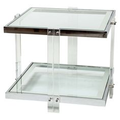 Megan Mirrored End Table By Regina Andrew Design At