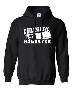 Culinary Gangster Chef prep Cook food foodie restaurant geek cool Printed  hoodie hooded sweatshirt Mens Ladies Womens Funny mad labs ML-229 b1d6dbb48a
