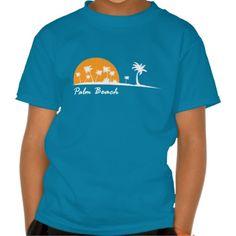 Palm Beach #Aruba Kids T-Shirt.