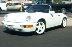 My Second Porsche 1990 C2 Cab - She went to car heaven after a guy hit my son while he was driving it.