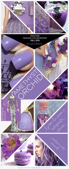 Pantone Fashion Color Report Fall 2015 Amethyst Orchid