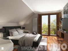 Sypialnia w stylu kolonialnym - zdjęcie od MIKOŁAJSKAstudio