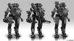 ArtStation - Battle Robot Variations, Edon Guraziu