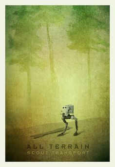 Star Wars Transport Series ATST Limited Edition Print by pacalin, $10.00