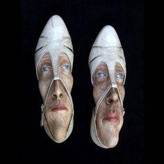 Gwen Murphy es un artista brillante que da nueva vida a los zapatos viejos, transformándolas en accesorios de moda en obras de arte interesantes. - Gwen Murphy Es Un artista brillante Que da Nueva Vida de Los Zapatos Viejos, Transformando accesorios de Moda en obras de arte Interesantes.