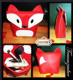 Kosmetiktäschchen im Fuchs Design
