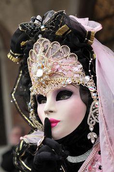mask of carnival of Venice 2013