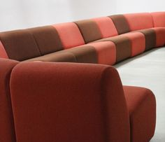 Amazing A Rare Modular Seating Set Named Tappo And Designed In 1973 By John  Mascheroni For Vecta