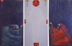 Sviatoslav Vladyka___Annucation    ( Collection - ICONART Contemporary Sacred Art Gallery
