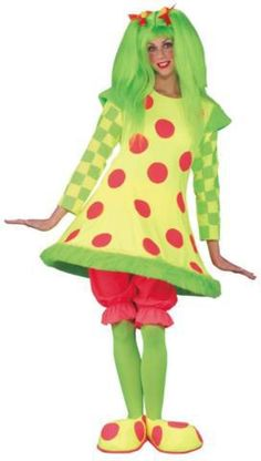 Lolli The Clown Costume Adult - Fantasy Costumes