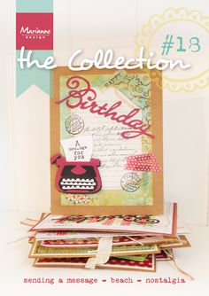 Collection #18 with the June 2014 collection from Marianne Design