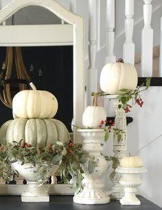 Fall Home Decor, Autumn Home, Fall Decor For Mantel, Country Fall Decor, Thanksgiving Decorations, Seasonal Decor, Holiday Tablescape, Autumn Decorations, Shabby Chic Decor