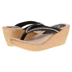 Sbicca Womens Fate Wedge Sandals