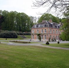 Stay In A Castle, English Style, Belgium, Swimming Pools, Tennis, Mansions, Park, House Styles, Home Decor