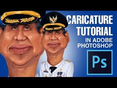 Photoshop Tutorial: How to Make Caricature From a Photo #03