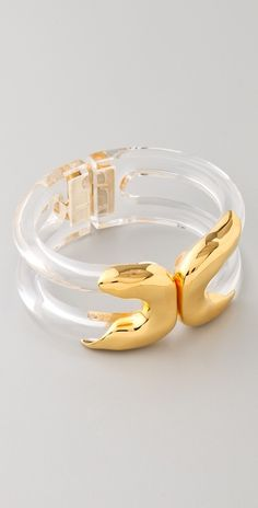 Alexis Bittar Modernist Molten Bracelet