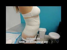 Como hacer faja con jengibre y quemar toda la grasa del vientre durante la noche! - YouTube