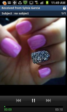 One bling finger