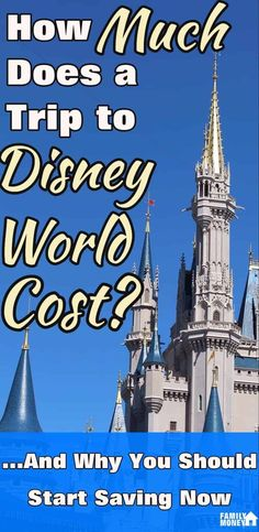 How Much Does A Disney World Trip Cost? Here's all the costs you need to know about before you go on your trip to Walt Disney World Disney World Planning, Disney World Vacation, Disney Vacations, Disney Trips, Walt Disney World, Disney Travel, Disney Parks, Disney Diy, Travel Jobs